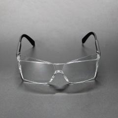 可伸缩镜腿包裹护目眼镜 防唾沫密闭防护眼镜 透气防风护目镜