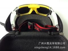 厂家直供 篮球运动镜盒 专业篮球运动镜盒 可定制EVA眼镜盒 现货