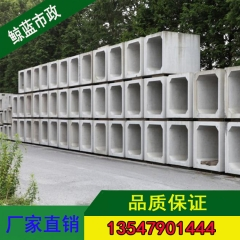 南充方形混凝土构件方涵可定制钢筋混凝土箱涵定制水泥涵