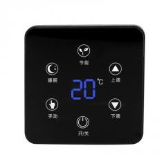 液晶温控器 地暖触屏风机盘空调温控面板全屏幕米勒公司源头厂家