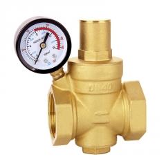 热水器调压式黄铜减压阀 自来水单向铜减压阀米勒公司源头厂家
