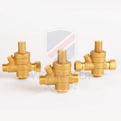 双内丝调压式黄铜减压阀 自来水双外丝铜减压阀米勒公司源头厂家