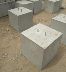 混凝土预制构件水泥墩子配重块