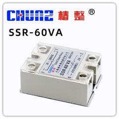【椿整】固态继电器 SSR40VA60V100VA单相固态调压器无触点继电器