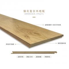 高密度强化复合地板耐磨E0级环保防潮家用美式乡村地板厂家直销