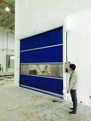 快速卷帘门 折叠门 pvc