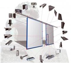 专业生产彩钢平移大门 保温平开门 量大更优惠