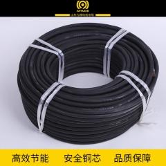 现货供应橡套电缆 加工定制多丝无氧铜硅橡胶电缆 马路电缆批发
