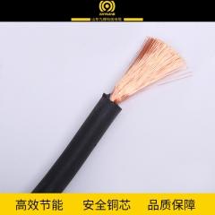 厂家直销25平方焊把线国标铜芯电焊线电缆线橡胶电源线电力电缆