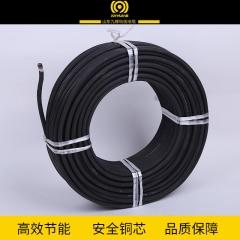 现货供应九辉橡套电缆2*6平方 硅橡胶护套无氧铜多丝线芯电缆线