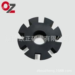 山东厂家直供石墨转子 叶轮除气机配件 产品精度高 抗氧化