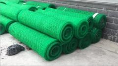 厂家低价直销 加筋麦克垫土工网垫 绿化生态建设用加筋麦克垫