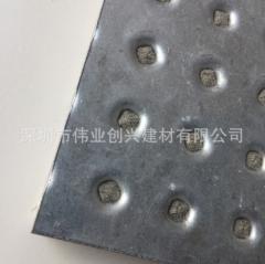 新元素抗爆板 纤维增强硅酸盐板材经双面钢板扣压 抗爆和耐火性能