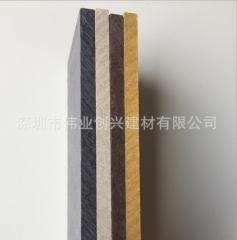 新元素佳堡板高密度、高强度、低吸水率的城市高层建筑外墙帷幕板 1220mm*2440mm*12mm