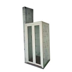 定制小型家用电梯楼道三层别墅电梯 家用载人无地坑观光液压电梯