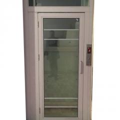 定制三层家用小型电梯室内观光别墅观光电梯无底坑住宅家用小电梯