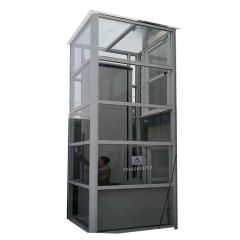 小型住宅家用电梯液压观光别墅电梯家用小型电梯复式二层家用梯