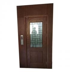 观光电梯小型家用微型电梯定制三层液压载人电梯无底坑别墅电梯