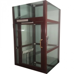 小型家用电梯二层简易微型观光电梯复式住宅家庭电梯家用别墅电梯