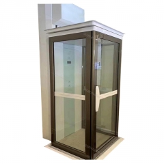 定制小型家用电梯无机房液压家庭升降电梯三层无底坑家用别墅电梯