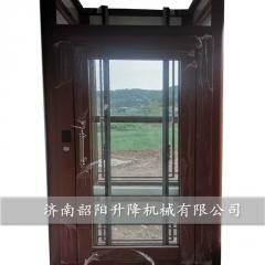 定制小型家用电梯观光别墅电梯住宅家用液压电梯二层升降家用电梯