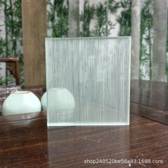中空门 工厂直销 艺术玻璃 夹丝玻璃