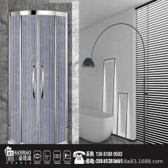 淋浴房夹丝玻璃 工厂直销 艺术玻璃  夹娟玻璃