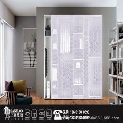 衣柜门单层夹丝玻璃 工厂直销 艺术玻璃 夹绢玻璃