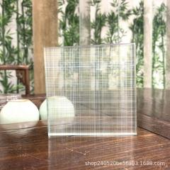 衣柜门单层夹娟 工厂直销 艺术玻璃 夹娟玻璃