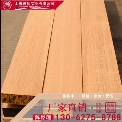 碳化防腐原木 柳桉木圆柱 柳桉木地板 黄柳桉木材 厂家批发出售