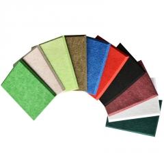 厂家供应环保隔音聚酯纤维吸音板 室内墙面装饰阻燃定制吸音板