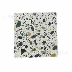 通体预制无机人造石水磨石地砖 预制人造石板 墙面地面台面砖