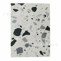 水磨石 无机石 预制无机水泥基水磨石砖 混凝土及天然大理石骨粒