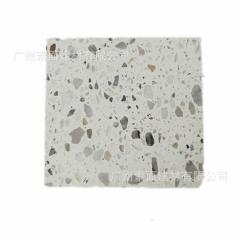 预制通体水磨石厂家 天然大理石颗粒无机石 人造石材 板材地砖