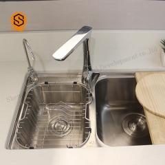 厂家直销厨房台面人造石英石颗粒人造大理石橱柜台面异形厨房台面