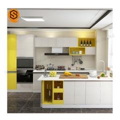 深圳厂家人造石厨房台面酒店小区人造石英石厨房橱柜台面加工定制