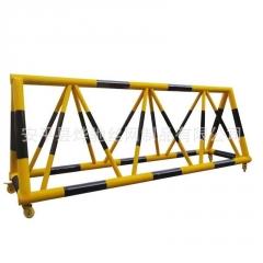 校门口防冲撞栏杆 黄黑色拒马移动护栏 防爆设卡护栏厂家
