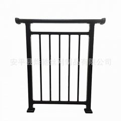 锌钢小区阳台护栏 别墅露天阳台防护网 喷塑铁艺栏杆护栏厂家