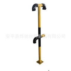 楼梯防护栏立杆 工地建筑楼梯扶手立柱 王字型栏杆立柱厂家直销