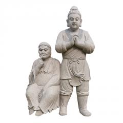 厂家直供石雕人物雕塑 大理石历史人物工艺品装饰摆件做工精细