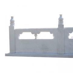 石雕汉白玉石雕栏石栏杆 浮雕护栏户外园林装饰石头围栏石雕栏杆