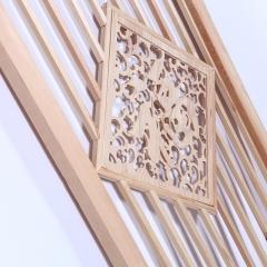 厂家直销中式古典建材家装典雅隔断花格 福字松木门窗可定制批发