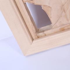 厂家直销仿古雕花板 家装挂饰木雕板 复古风格雕花板定做批发