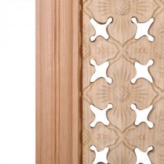 新款古典中式门窗镂空雕刻仿古门实木隔断屏风东阳木雕定制批发