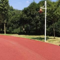 厂家直销公园绿道彩色透水沥青混凝土 美观彩色沥青颗粒