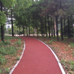 长期供应景观整治彩色沥青路面 风景区公园彩色沥青颗粒路面