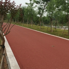 专业销售庙源溪四标工程排水性沥青路面 彩色透水沥青混凝土