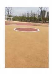 贵州透水混凝土胶结料彩色透水地坪凝胶剂透水砼增强剂厂家直销
