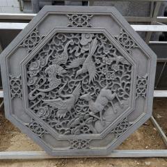厂家直销防腐古建精品砖雕 四合院墙壁装饰花雕 多种图案水泥雕