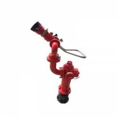 厂价直销灭火器材栓炮一体式消火栓 室外自泄防冻消防水炮